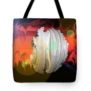 Wormhole Predator Tote Bag