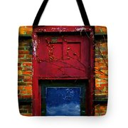 Wormhole Window Tote Bag