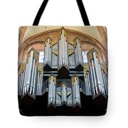 Worms Cathedral Organ Tote Bag