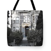 Wormser-coleman Victorian Mansion - San Francisco Tote Bag