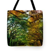 Wormsloe Plantation Tote Bag