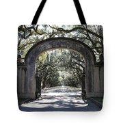 Wormsloe Plantation Gate 2x3 Tote Bag