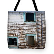 Worn And Blue Tote Bag