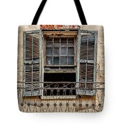 Worn Window Tote Bag