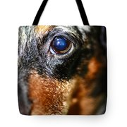 Worried Wiener Tote Bag