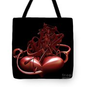 Wounded Heart Tote Bag