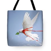 Wounded Peace 2 Tote Bag