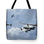 Wounded Warrior Tote Bag