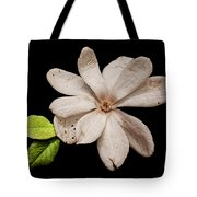 Wounded White Magnolia Wide Version Tote Bag