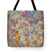 Woven Branches Long Tote Bag