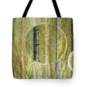 Woven Branches Tote Bag