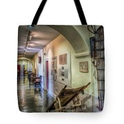 Woven Stretcher  Tote Bag by Adrian Evans