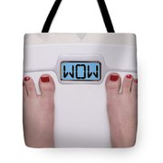 Wow Scale Tote Bag