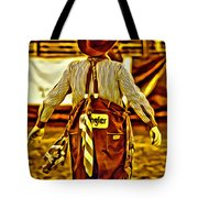 Wrangler Clown Tote Bag