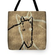 Wrapped Around Your Neck Tote Bag
