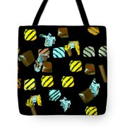 Wrapped Chocolates Tote Bag