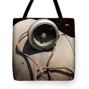 Wrapped Head Lamp Tote Bag
