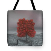 Wrapped In Red Tote Bag