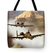 Wrath Of The Warthog Tote Bag