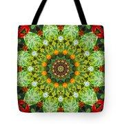 Wreath Kaleidoscope Tote Bag