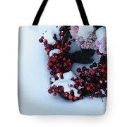 Wreathing Winter Sorrows Tote Bag