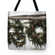 Wreaths For Sale Colonial Williamsburg Tote Bag