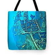 Wreck Diving Make The Discovery Tote Bag