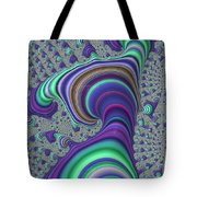 Wriggle Thru Time Tote Bag