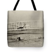 Wright Brothers - First In Flight Tote Bag