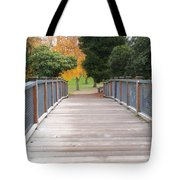 Wrights Park Bridge Tote Bag