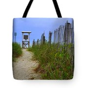 Wrightsville Beach Acess Tote Bag
