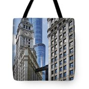 Wrigley And Trump In Harmony Tote Bag