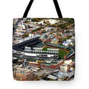 Wrigley Field Chicago Sports 01 Tote Bag