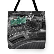 Wrigley Field Chicago Sports 04 Selective Coloring Tote Bag