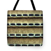 Wrigley Field Grandstand Seats From Upper Deck Tote Bag
