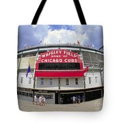 Wrigley Field Marquee Tote Bag