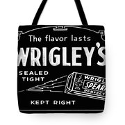 Wrigleys Spearmint Gum Tote Bag