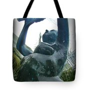 Wringing Out The Towel Tote Bag