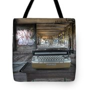 Writers Block Tote Bag