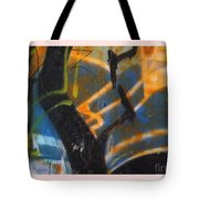 Writing On The Wall 2 Tote Bag