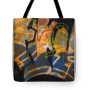 Writing On The Wall 3 Tote Bag