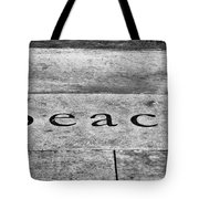 Written In Stone Tote Bag by Christi Kraft