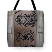 Wrought-iron Door Tote Bag
