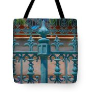Wrought Iron Fence Tote Bag