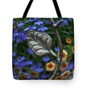 Wrought Iron Garden Tote Bag