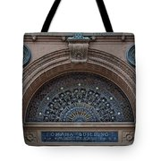 Wrought Iron Grille - The Omaha Building Tote Bag