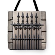 Wrought Iron Window Grille Tote Bag