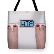 Wtf Scale Tote Bag