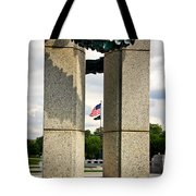 Ww I I Memorial Vintage Tote Bag