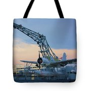 Ww II Sea Plane Tote Bag